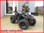 "ATV KXD 001/7 Big Foot 125cc Automat 7"" CZARNY"