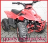 "ATV KXD 001/7 Big Foot 125cc Automat  7"" CZERWONA"