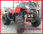 ATV model F BIG LAMP 200cm Automat czerwony